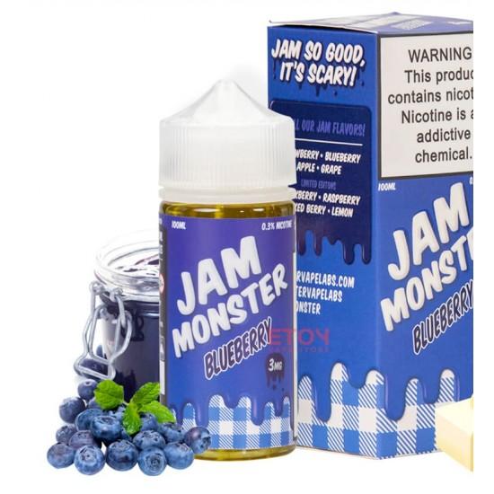Jam Monster Blueberry 100ml.