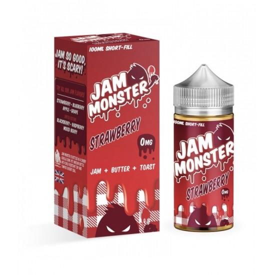 Jam Monster Strawberry 100ml.