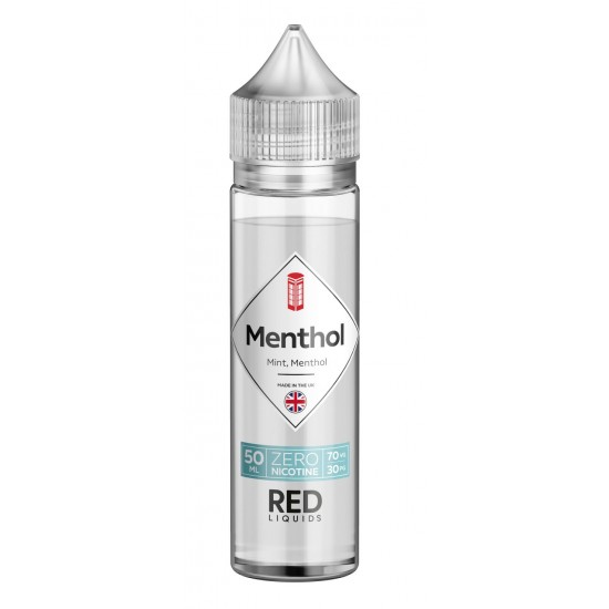 Red Liquids Menthol Mint Short Fill 50ml. 00mg.