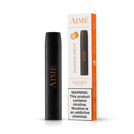 Aime Disposable Pod Device 350 pufss passion fruit