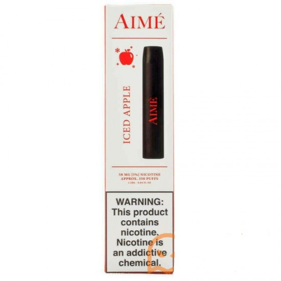 Aime Disposable Pod Device 350 pufss iced apple