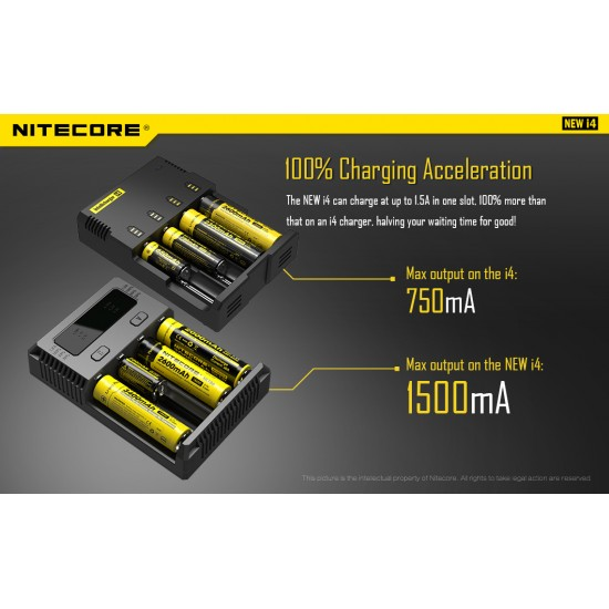 Nitecore Intellicharger New i2