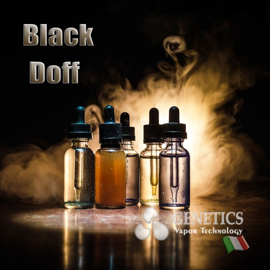 Black doff Vape Juice Genetics