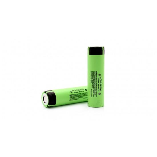 Panasonic 3400mAh 18650 Li-ion 3.7v Battery NCR18650B